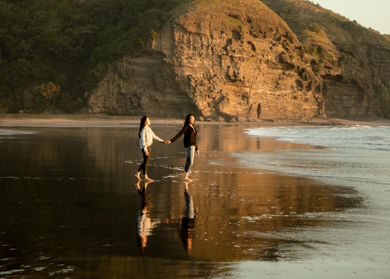 Auckland romantic photoshoot